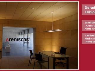 Oficinas de estilo mediterráneo de ARENISCAS STONE Mediterráneo