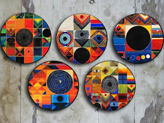 Wall Plates To Decor Your Wall: modern  by Stature Retail Service,Modern