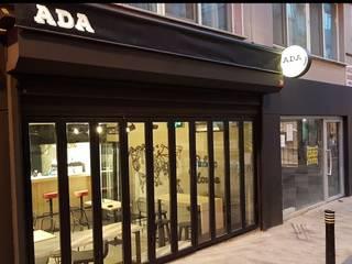 Milimetrekare Tasarım ve Mimarlık – Cephe Dış Görünüm-  Kapalı:  tarz Bar & kulüpler