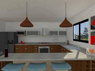 Modern Kitchen by Sólido Arquitectura Modern