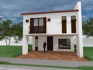 Casa Habitación Tabachin: Casas de estilo moderno por Sólido Arquitectura