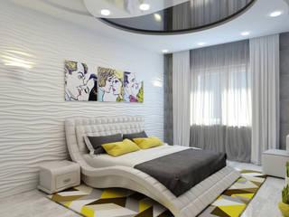 Modern style bedroom by Цунёв_Дизайн. Студия интерьерных решений. Modern