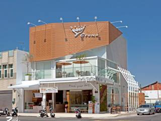 金礦咖啡︱興業店:  餐廳 by Zendo 深度空間設計,