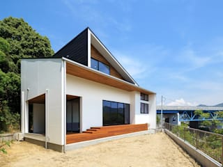 一級建築士事務所haus Single family home Wood White