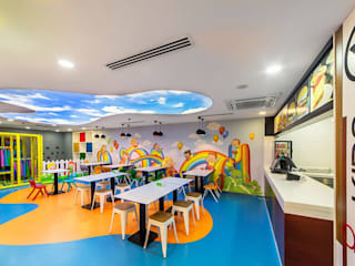 Etit Mimarlık Tasarım & Uygulama – Ankara Restaurant:  tarz Yeme & İçme