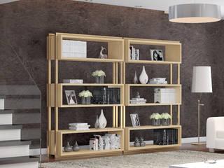 Decordesign Interiores Living roomShelves