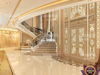 Corridor & hallway by Luxury Antonovich Design,
