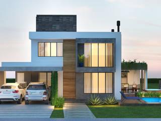 บ้านเดี่ยว โดย Rau Duarte Arquitetura,