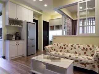 暖。美式鄉村宅 3房2廳 |鄉村風| 芸匠室內設計 Artisan Design 根據 芸匠室內裝修設計有限公司 鄉村風