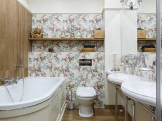 «Гудзон». ЖК «Residence». 160 м.кв. Ванная в классическом стиле от Дизайн элитного жилья | Студия Дизайн-Холл Классический