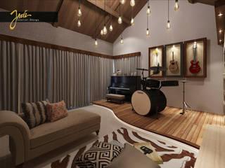Music Room Design :  Ruang Keluarga by Jade Interior Design