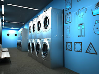 Next Container – Next Container - 4 Ft Laundry:  tarz Prefabrik ev