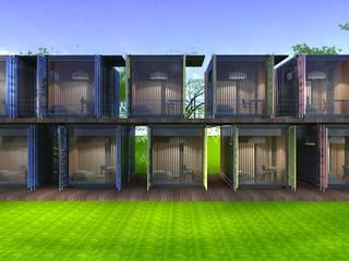Next Container – Next Container - Blocks:  tarz Prefabrik ev