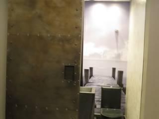 Industrial style bathroom by Danielle David Arquitetura Industrial