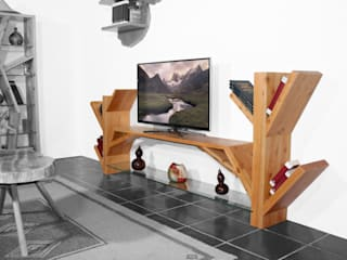 Hunikus Living roomShelves Solid Wood Wood effect