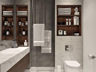 Основной санузел Ванная комната в эклектичном стиле от Татьяна Аверкина Эклектичный