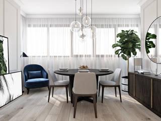 Столовая зона: Столовые комнаты в . Автор – Татьяна Аверкина