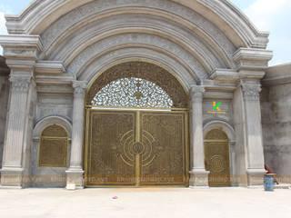 Cổng nhôm đúc cổng đẹp dành cho biệt thự nhà phố sang trọng đặt ở đâu đẹp nhất:   by Không Gian Đẹp XYZ