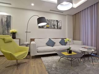 Mẫu căn hộ cao cấp khiến bao người xao xuyến bởi Thương hiệu Nội Thất Hoàn Mỹ Hiện đại