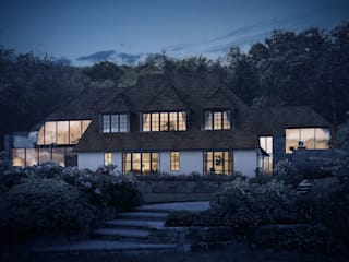Extensions & Reconfiguration for a 1920s Country Home od ArchitectureLIVE