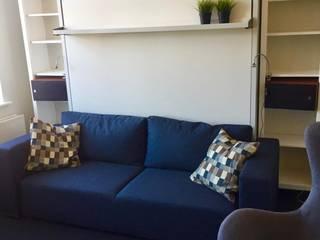 Łóżko Chowane w Szafie STELAR ZŁOŻONE: styl , w kategorii  zaprojektowany przez STELAR