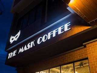 THE MASK COFFEE:   by TNC CREATIVE.CO.,LTD