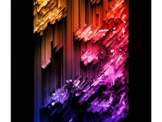 GLITCH! - Arte visual digital en pequeño y mediano formato de Chris Fierro Arte Visual Moderno