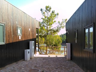 Discovercasa | Casas de Madeira & Modulares Prefabricated home Solid Wood Brown
