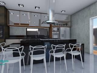 Residencia 01 por Tauana Rodrigues - Arquitetura e Interiores