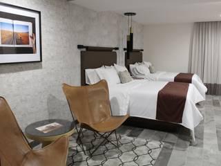 MONTAUDON INTERIORISMO Hoteles de estilo moderno