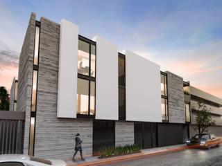 AM Departamentos Villalba Palau Arquitectos Casas multifamiliares