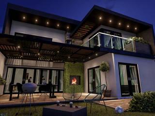 Casas unifamilares de estilo  de BUILD ARQUITECTURA, Minimalista