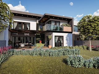 Casas de estilo  de BUILD ARQUITECTURA, Minimalista