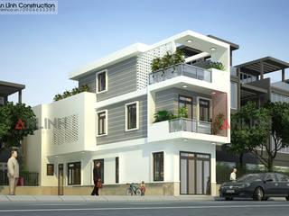Công trình nhà phố ANH TRÍ ở quận 9:   by CÔNG TY THIẾT KẾ XÂY DỰNG AN LĨNH