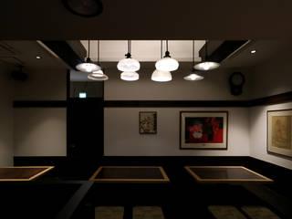 空間の印象付け: designista-s (デザイニスタ エス)が手掛けたレストランです。