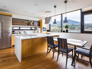 전라북도 익산시 삼기면 기산리 단독주택 신축: 바이제로의  주방
