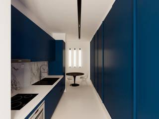 Casa XXS: Cozinhas minimalistas por Makers Embassy
