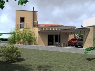 Maison individuelle de style  par Architetti Baggio