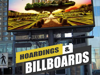 Hoarding Billboards Design Concept By Yantram Real Estate Digital Branding Agency Rome, Italy Yantram Architectural Design Studio Klasik