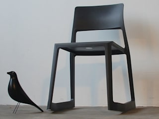 Vitra Tip Ton Stuhl - basic dark:   von noto 2nd Hand Designmöbel