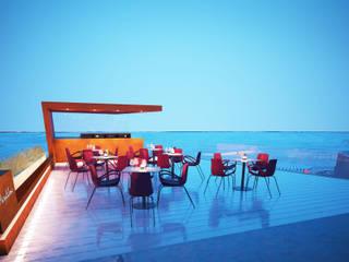 Varie - Lavori in corso: Terrazza in stile  di Studio Bennardi - Architettura & Design