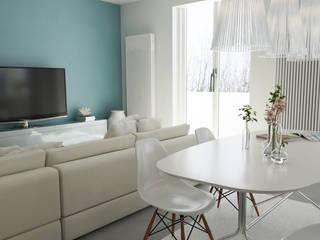 Varie - Lavori in corso: Soggiorno in stile in stile Eclettico di Studio Bennardi - Architettura & Design