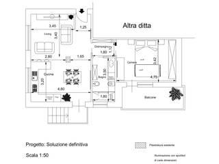 Progetto San Mauro Torinese (TO):  in stile  di Santoro Design Render