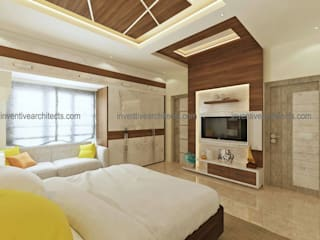 Interior Project Modern style bedroom by Inventivearchitects Modern