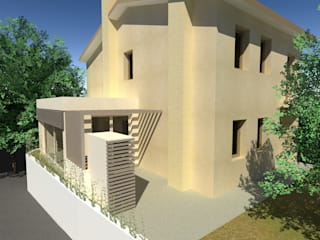 Modern Kış Bahçesi Architetti Baggio Modern