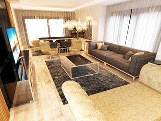 Modern Living Room by NDA CONCEPT Modern
