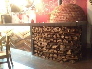 Kitchen by 2PUNTO74, Rustic