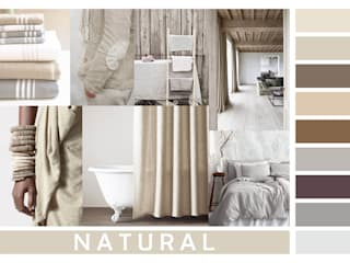 NATURAL COLORCHART:  in stile  di JU by Juliana Daltin