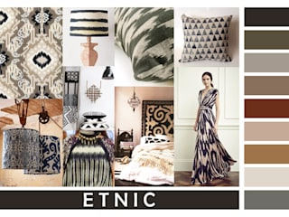 ETNIC COLORCHART:  in stile  di JU by Juliana Daltin