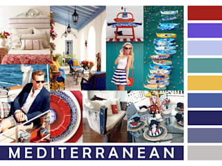 MEDITERRANEAN COLORCHART:  in stile  di JU by Juliana Daltin